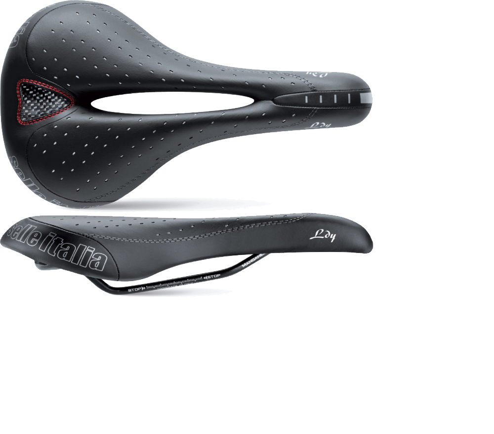 SELLA SELLE ITALIA DONNA LADY GEL FLOW   - NERA