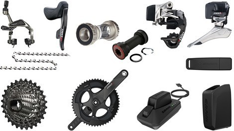 GRUPPO COMPLETO SRAM RED e-TAP 11V WIRELESS