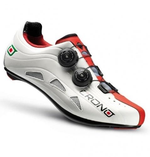 new style 69527 5f8f2 SCARPE BICI CORSA CRONO FUTURA 2 WHITE-RED