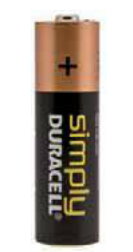 "BATTERIE DURACELL PLUS SIMPLY STILO TIPO ""AA"""