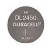 "BATTERIE DURACELL PLUS CICLOCOMPUTER ""2450"""