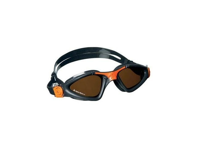 AQUA SPHERE KAYENNE POLARIZED LENS GREY/ORANGE