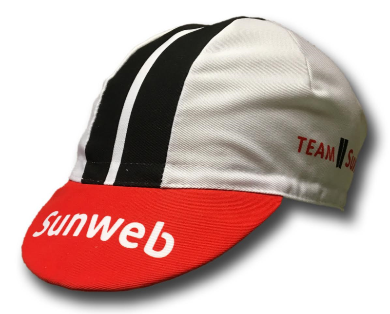 CAPPELLINO SOTTOCASCO SUNWEB 2017 + CALZA FORCE LONG WHITE/BLACK