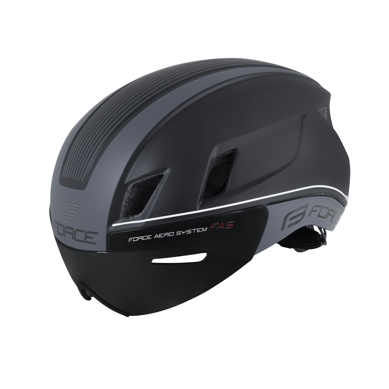 NOVITA' 2018** CASCO ROAD AERO FORCE WORM NERO