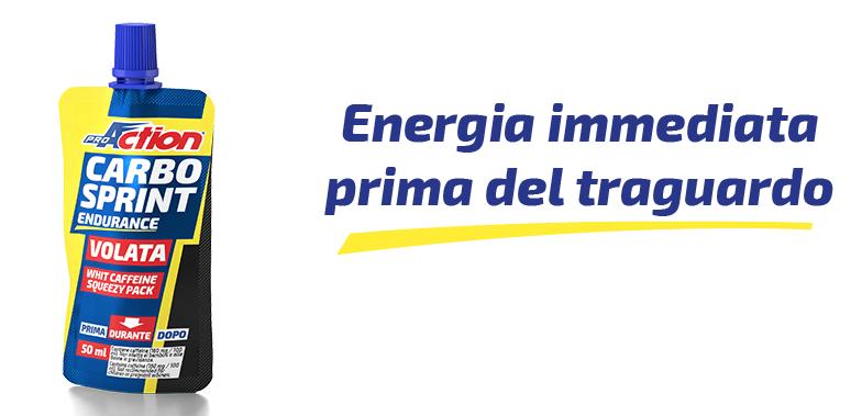 BOX PRO ACTION Carbo Sprint® Volata  32x50ml - ARANCIA ROSSA
