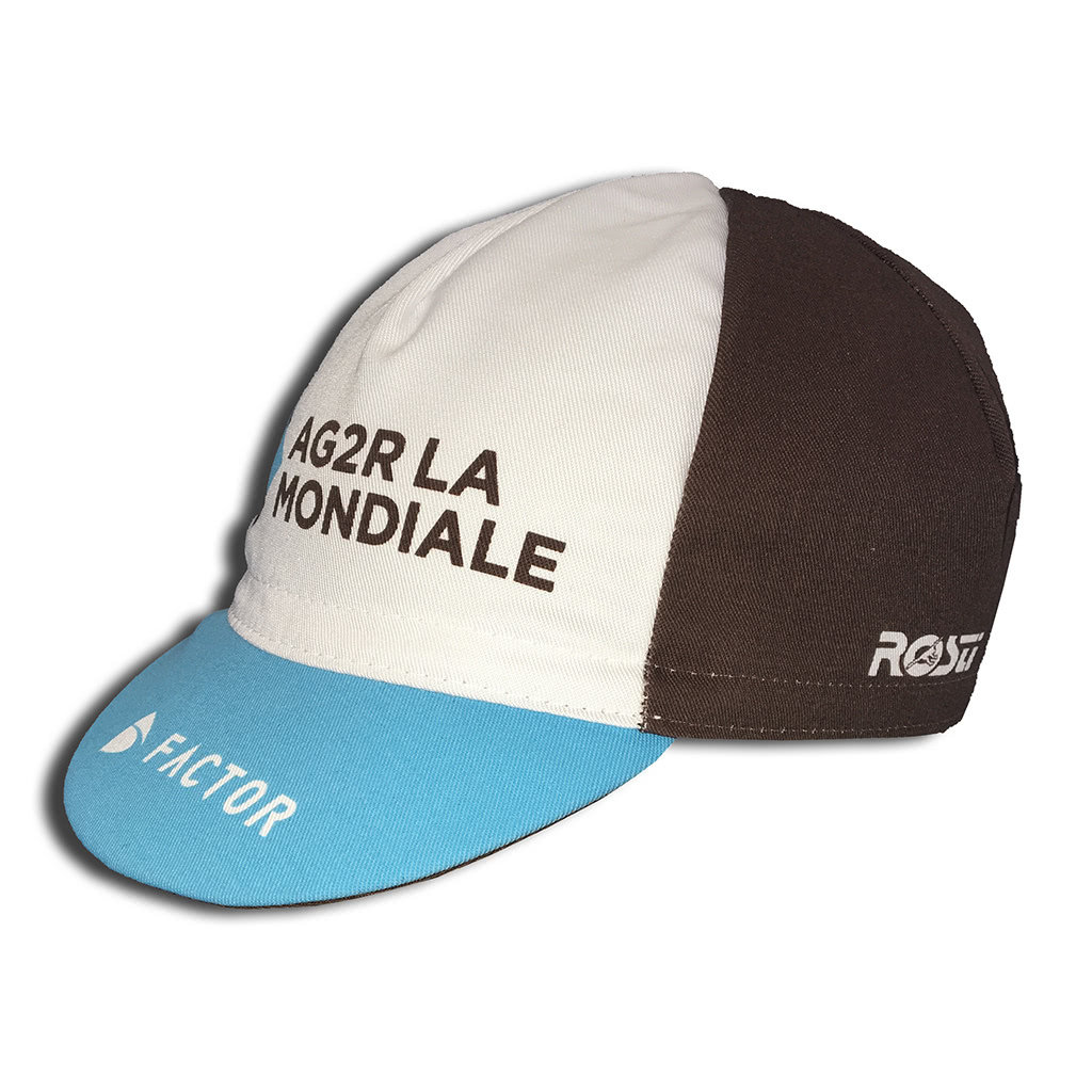 CAPPELLINO SOTTOCASCO AG2R + CALZA FORCE LONG WHITE/BLACK