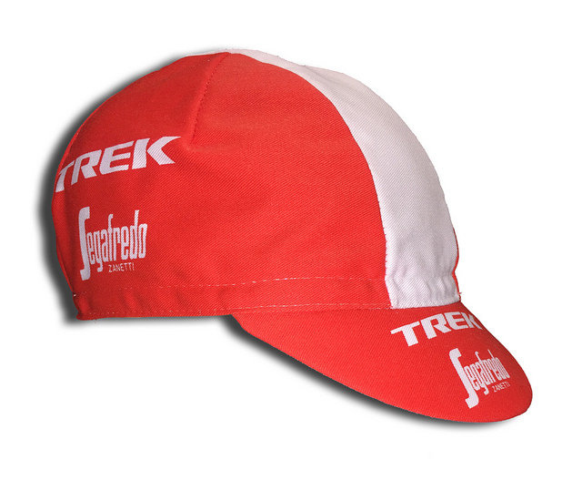 CAPPELLINO SOTTOCASCO TREK SEGAFREDO + CALZA FORCE LONG WHITE/RED
