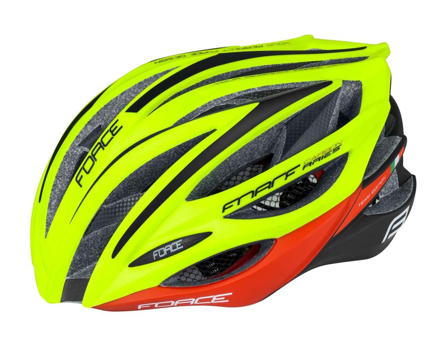 CASCO FORCE ARIES CARBON TEAM FLUO-RED
