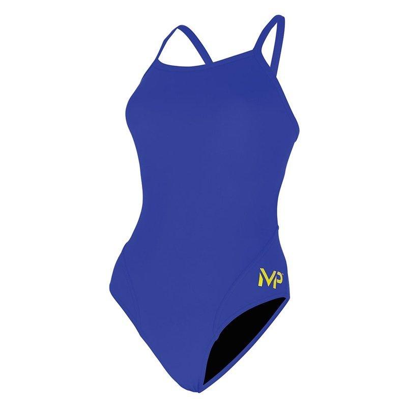 AQUA SPHERE MP Team Suit - Mid Back - Solid - Royal Blue