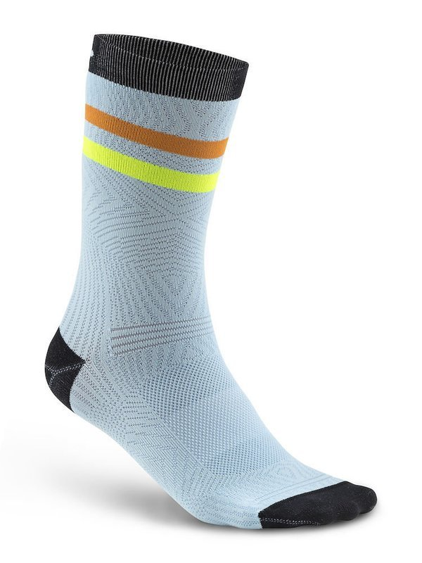 CALZE CRAFT PATTERN SOCK MULTI/NERO