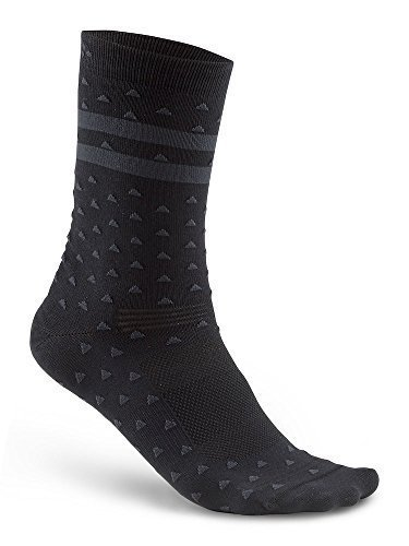 CALZE CRAFT PATTERN SOCK NERO
