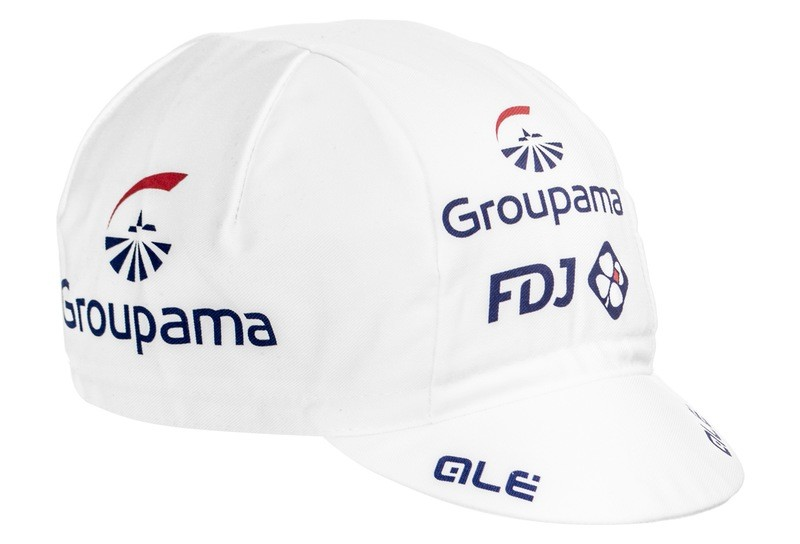 CAPPELLINO SOTTOCASCO ALE' TEAM GROUPAMA FDJ + CALZA FORCE WHITE/BLU