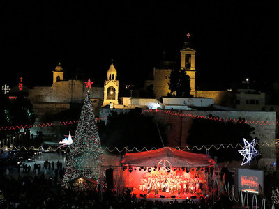 Bethlehem Star - a spacial night tour on christmas eve a tour in Jerusalem & a midnight Mass in Bethlehem