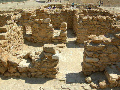 Massada, Dead Sea