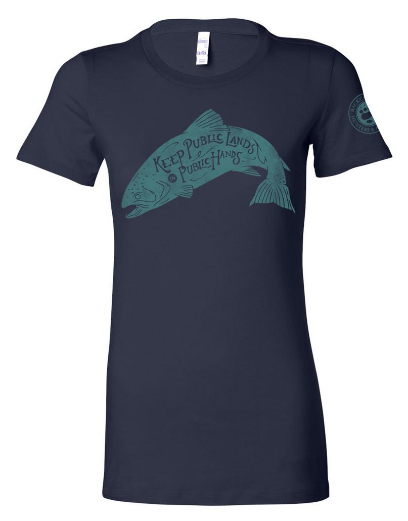 CLOSEOUT-Women's Fish Shirt