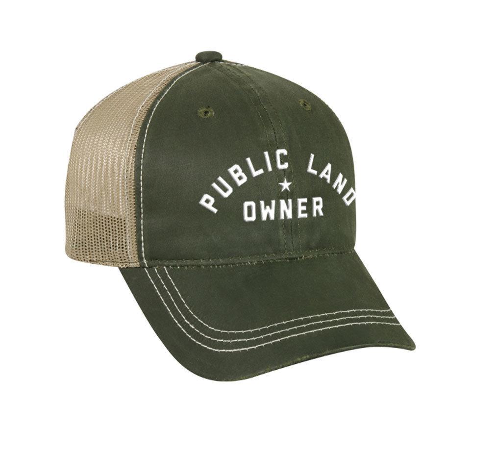 Waxed Cotton Public Land Owner Hat