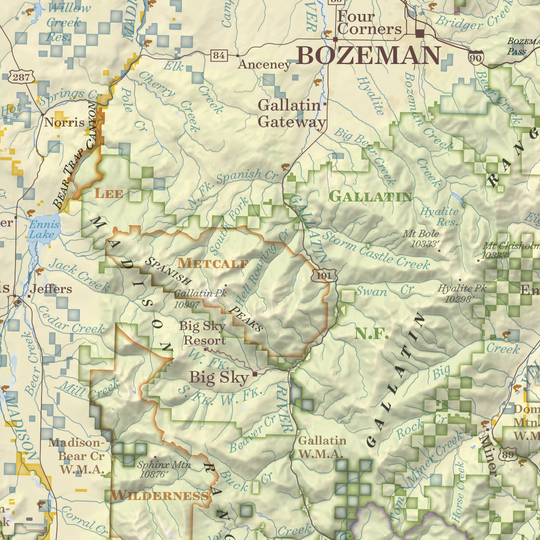 Special Offer! Montana Public Lands Map-Price Marked Down Until Dec. 19th