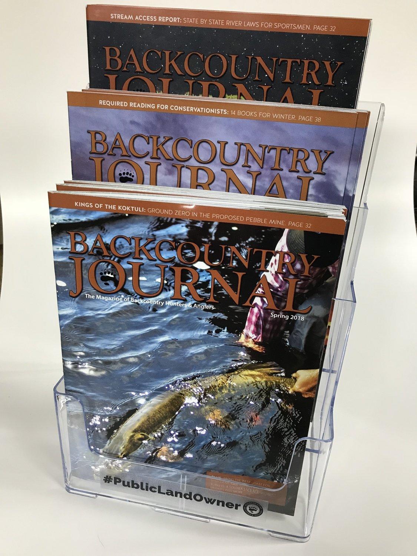 Backcountry Journal Retail Distribution Partnership
