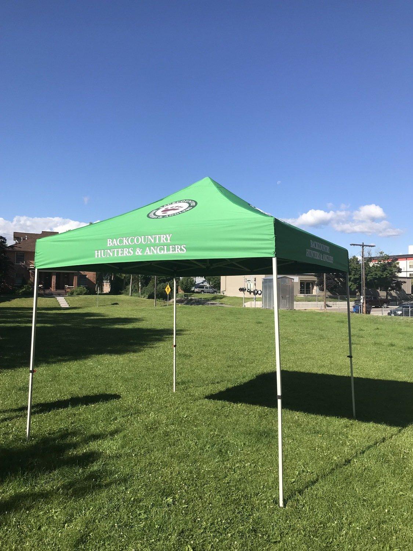 Custom BHA Tent