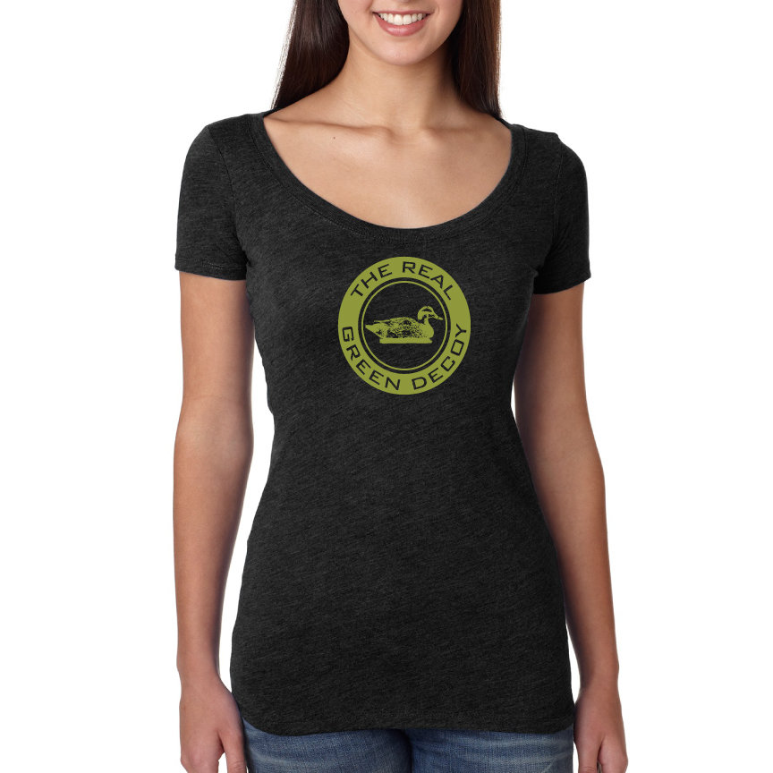 Women's The Real Green Decoy T