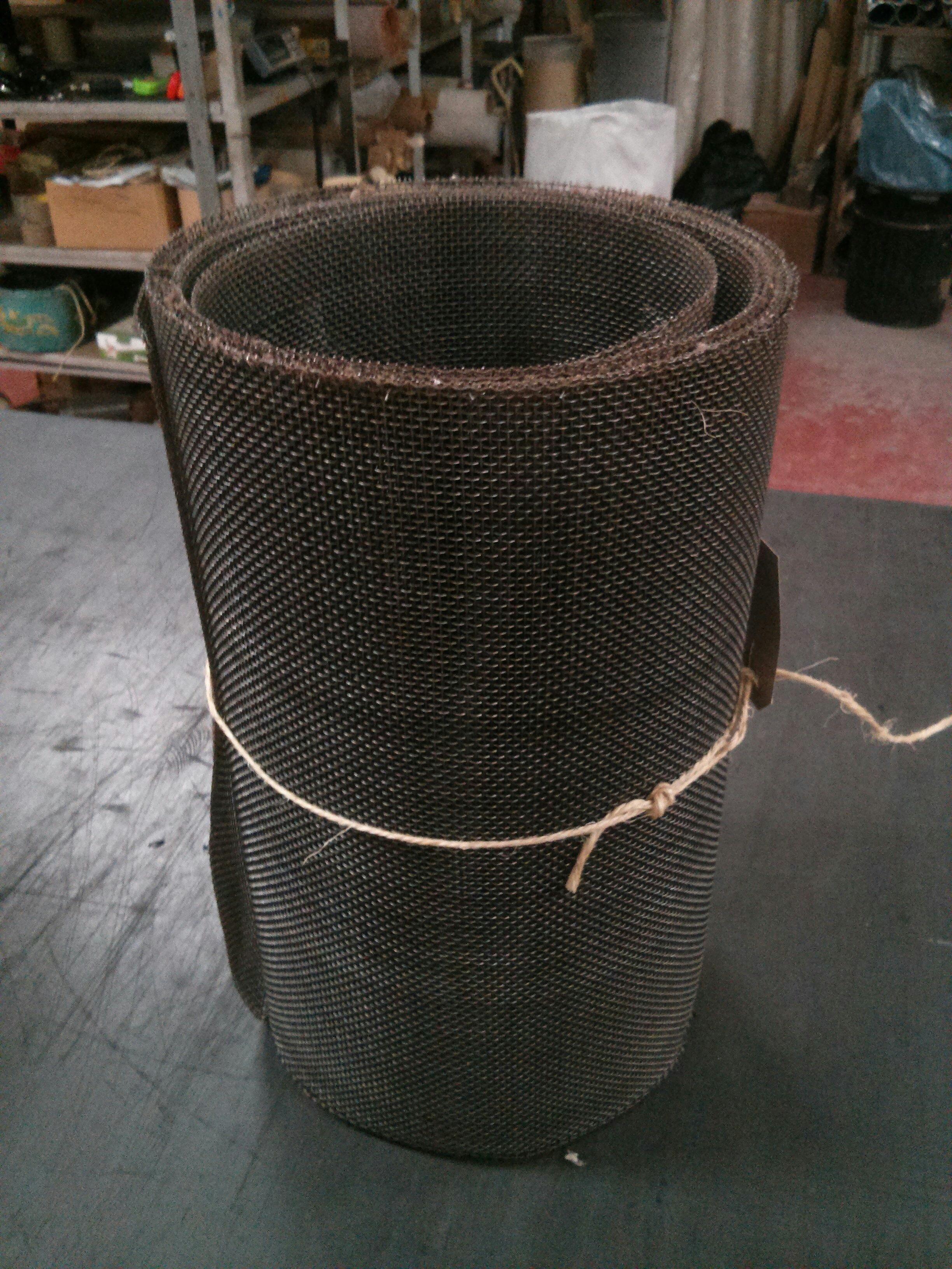 7m x 460mm, mild steel woven 6 mesh: 3.52mm aperture OC3