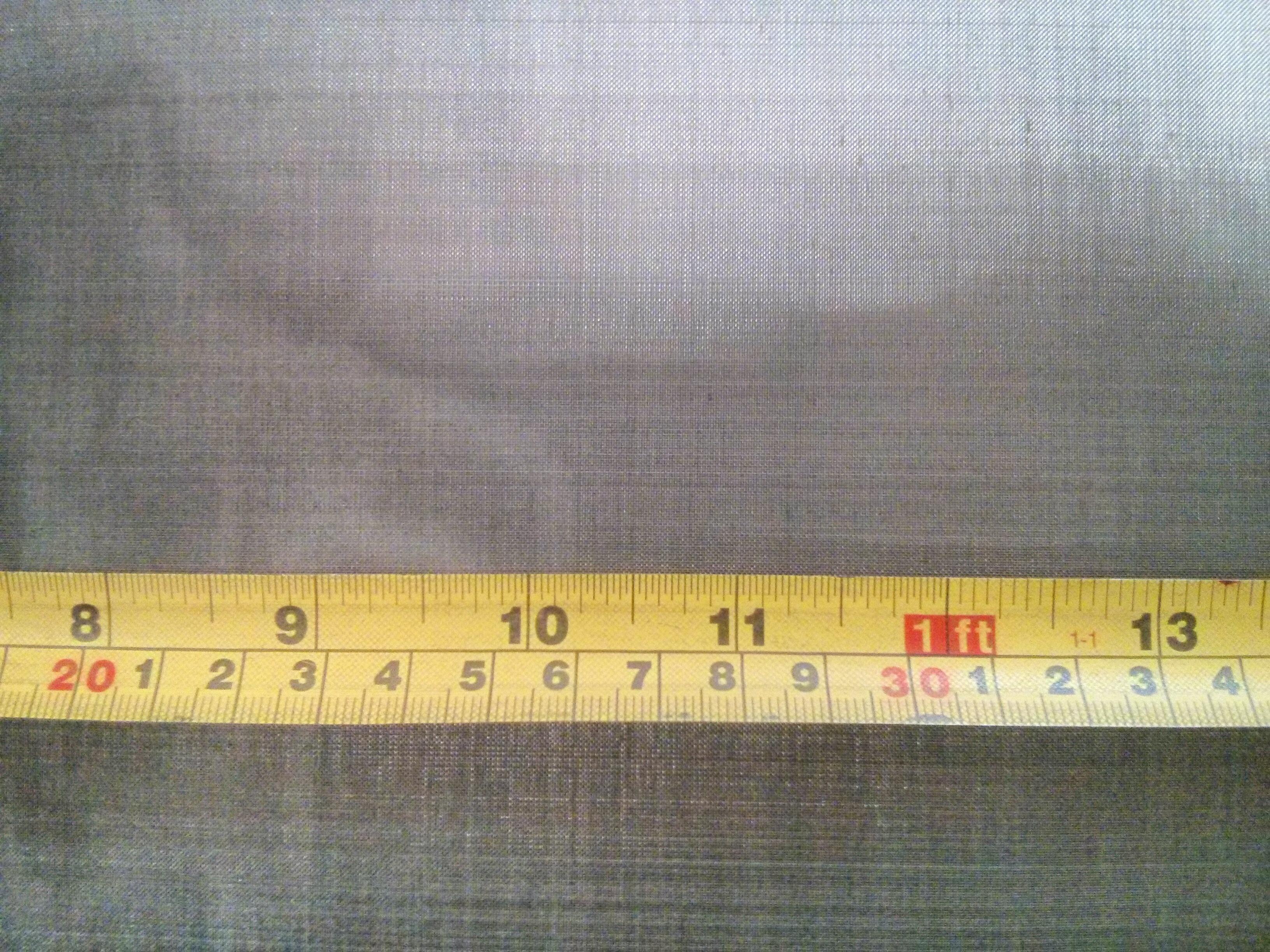Mild steel woven 80 mesh: 0.185mm aperture MS80M39GW1.37L1