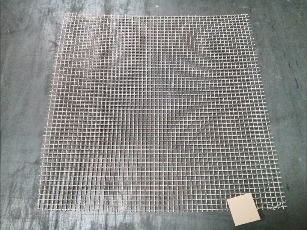 500mm x 500mm, stainless woven 8mm aperture mesh OC35