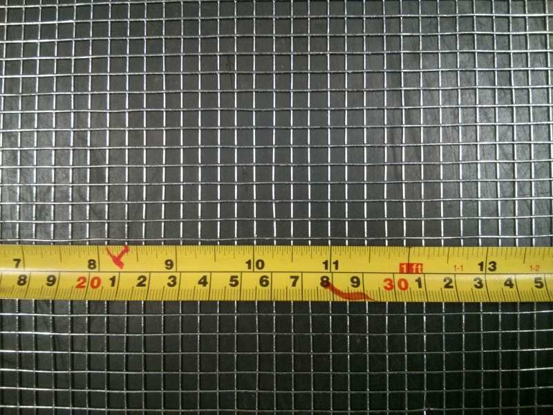 Mouse mesh, 6m x 915mm wide galvanised welded MMW0.915L6