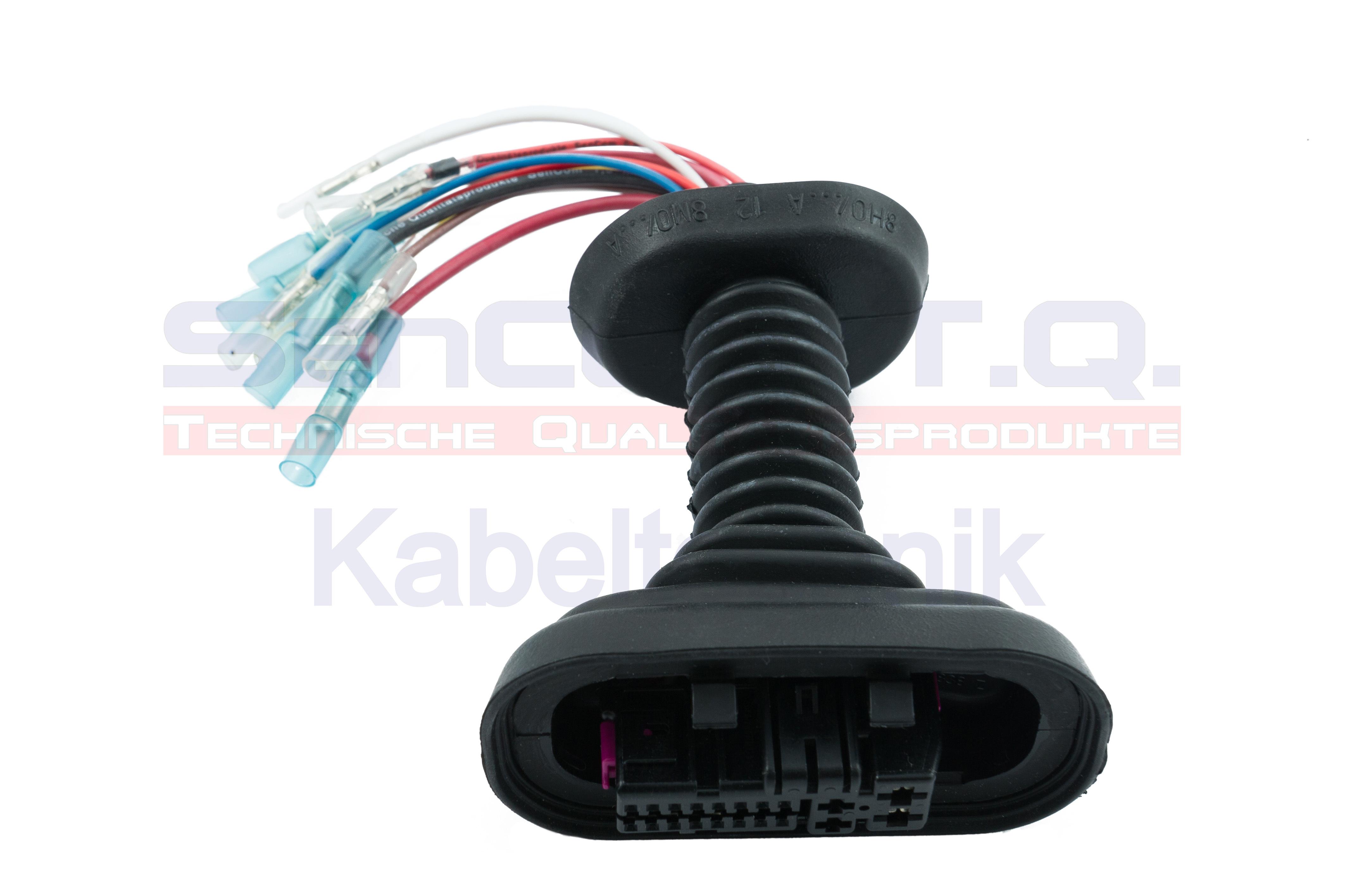SenCom Kabelbaum Reparatursatz Audi A4 (8E2,8E5,B6) Tür vorne links oder rechts 1014610SC