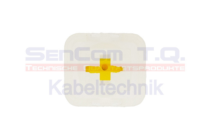 Connector 1-polig Sichtseite Front
