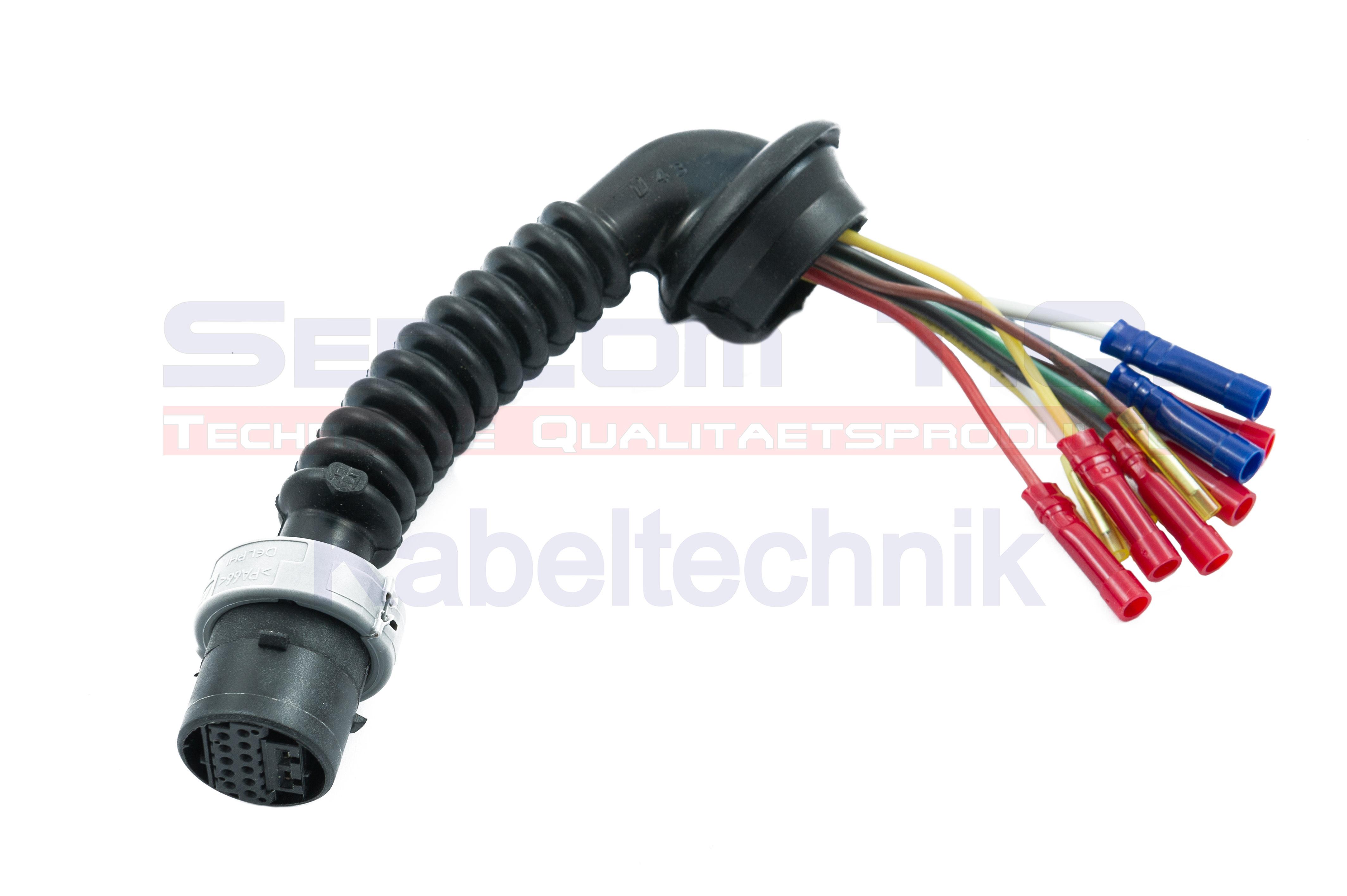 SenCom Kabelbaum Reparatursatz OPEL Astra G Tür hinten links oder rechts mit ZV 3061504-1