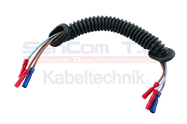 SenCom Kabelbaum Reparatursatz VW Golf III Cabrio Kofferraumdeckel links