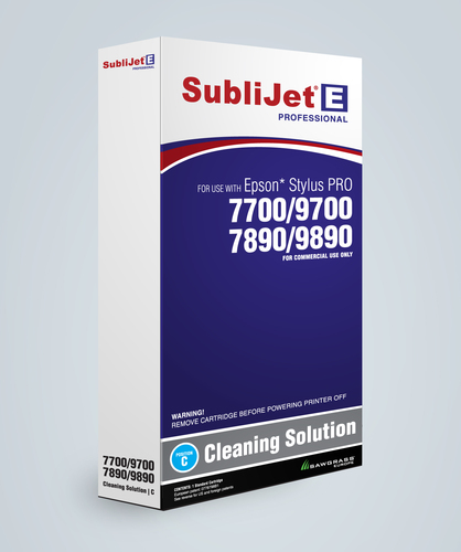 Sublijet E Large Format Cleaning Carts