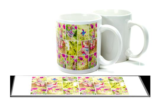 Mug Sized Sublimation Paper