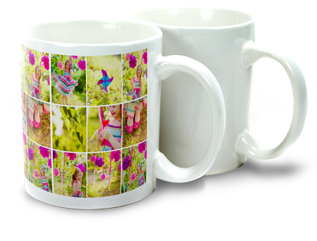 11oz Sublimation Photo Mug