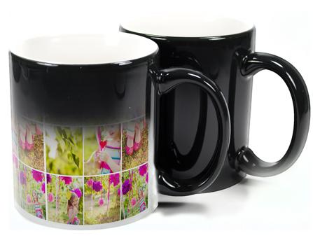 Black Colour Change Mug