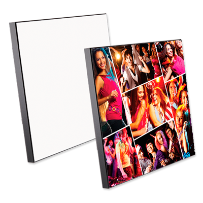 Square MDF Wall Photo Panels