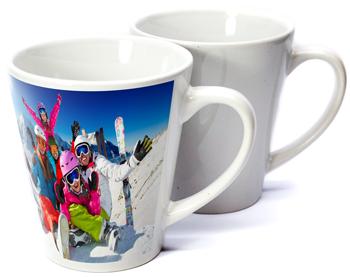 12oz Latte Sublimation Photo Mug