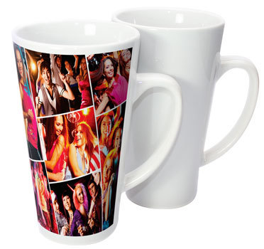 17oz Latte Sublimation Photo Mug
