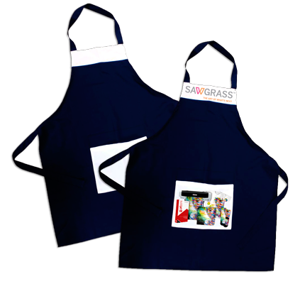 Navy Sublimation Apron