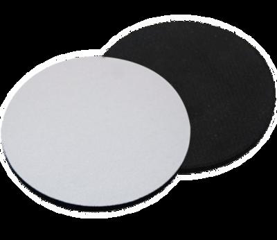 Round Coaster Textile 10cm Dia