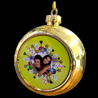 Gold Tree Ornament