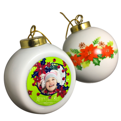 Ceramic Tree Ornament