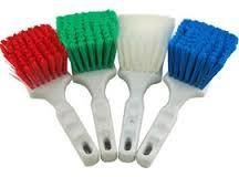 SCREEN CLEANING BRUSH WHITE (DEGREASING)