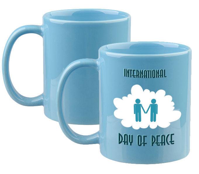 11oz Light Blue Mug