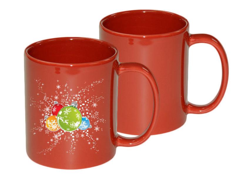 11oz Red Mug
