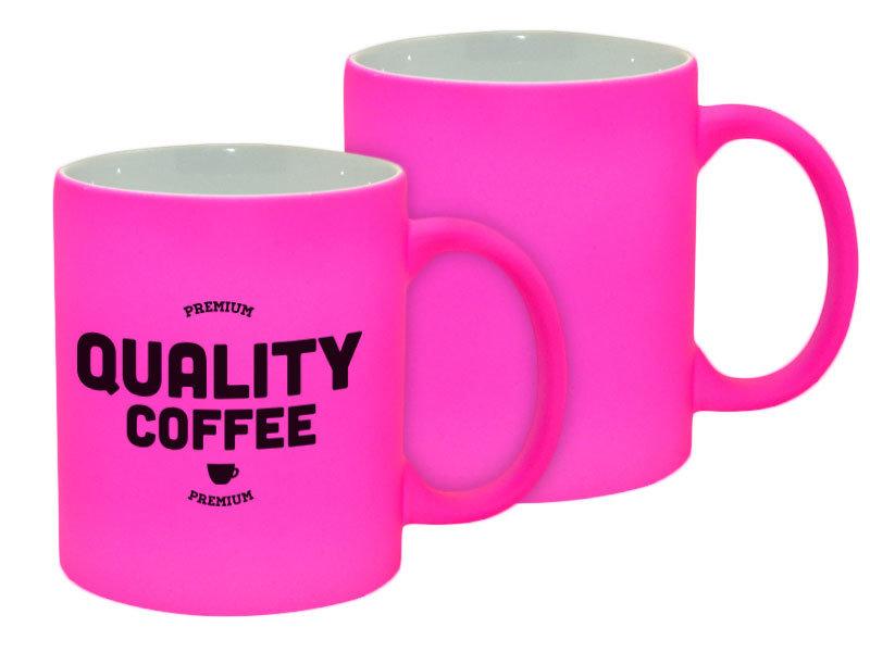 11oz Neon Pink Mug