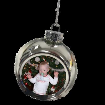 Silver Tree Ornament