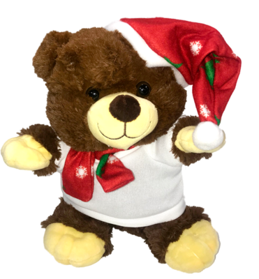Sublimation Plush Xmas Bear