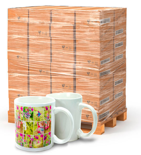 Pallet of 11oz Sublimation Photo Mug (Gloss)
